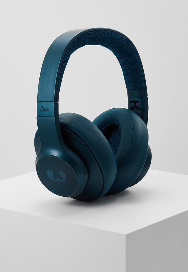 CLAM ANC WIRELESS OVER EAR HEADPHONES - Høretelefoner - petrol blue