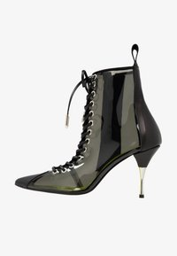 Fratelli Russo - JASMINE - Lace-up ankle boots - positano nero/fumo - 1