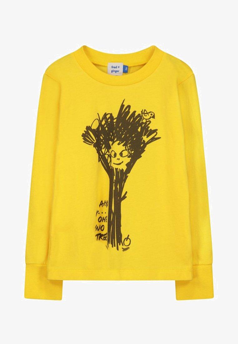 fred + ginger - BASIL - Longsleeve - mellow yellow