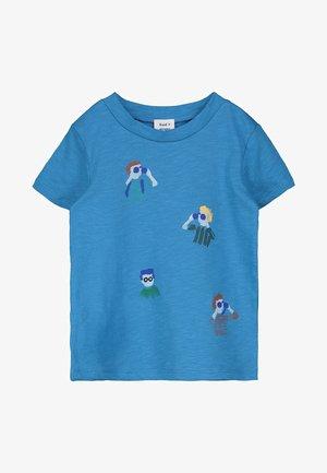 TOON - Print T-shirt - blue pool