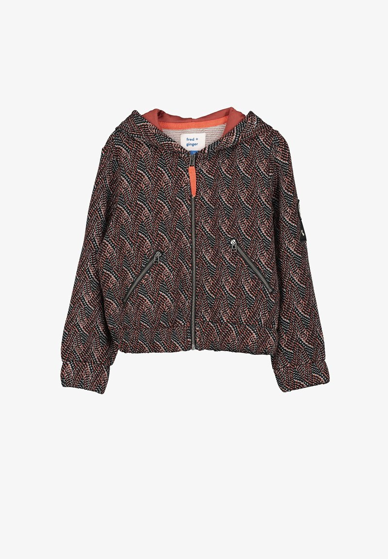 fred + ginger - BOBBY - Zip-up hoodie - brown