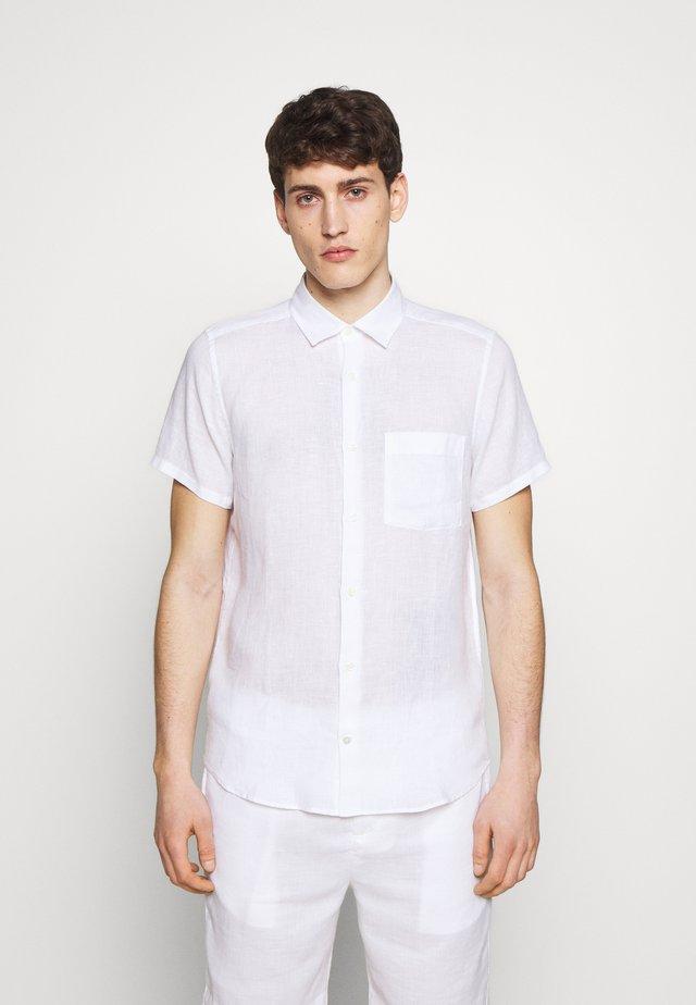 REGULAR BLOCK - Shirt - white