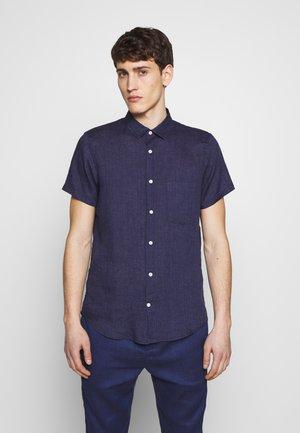 REGULAR BLOCK - Shirt - midnight blue