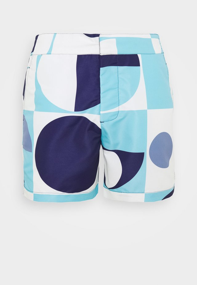 TRUNKS CLASSIC SHORT COPIC - Swimming shorts - sky blue navy