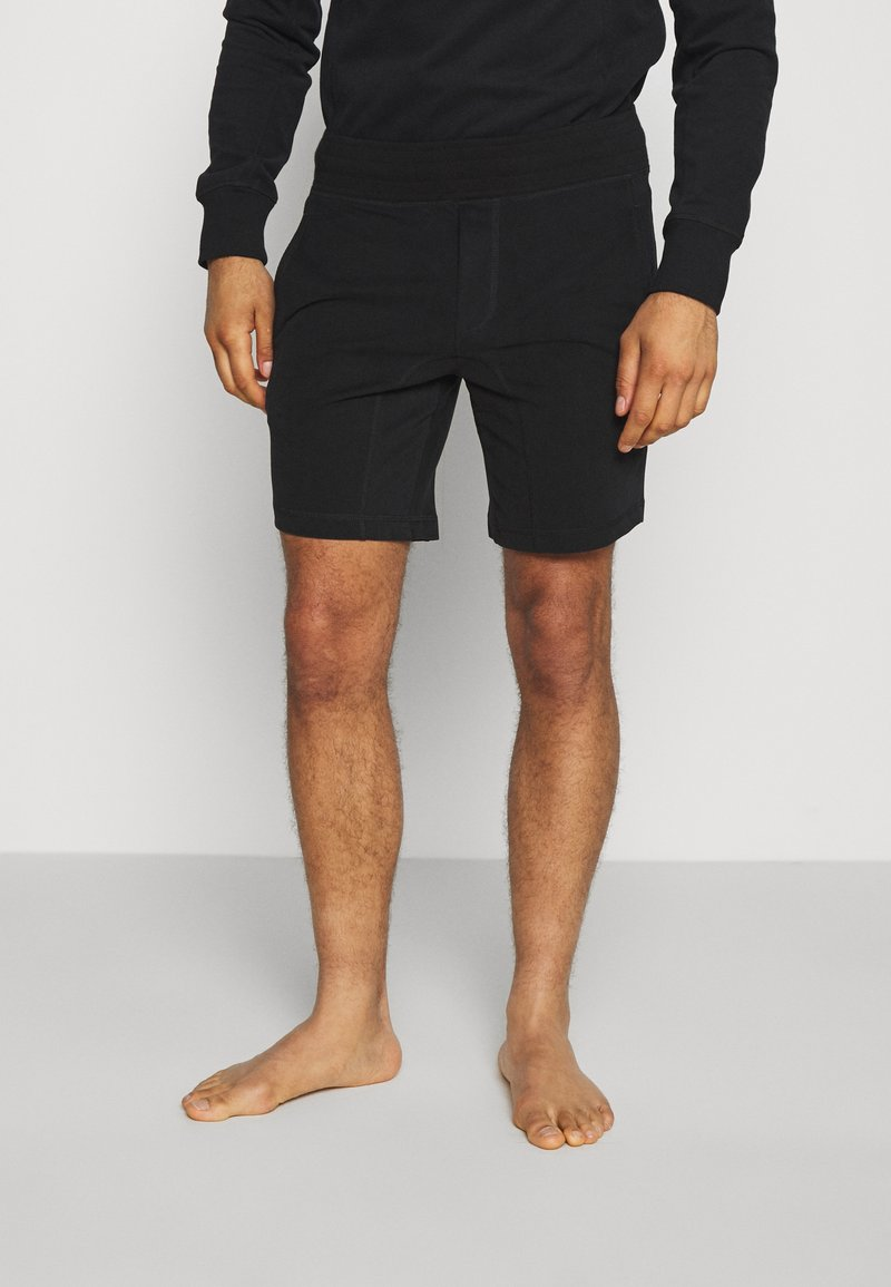 Frescobol Carioca - LEBLON LOUNGE - Pyjama bottoms - black