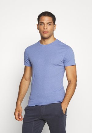 BLEND REGULAR BLOCK CREW - Pyjama top - slate blue