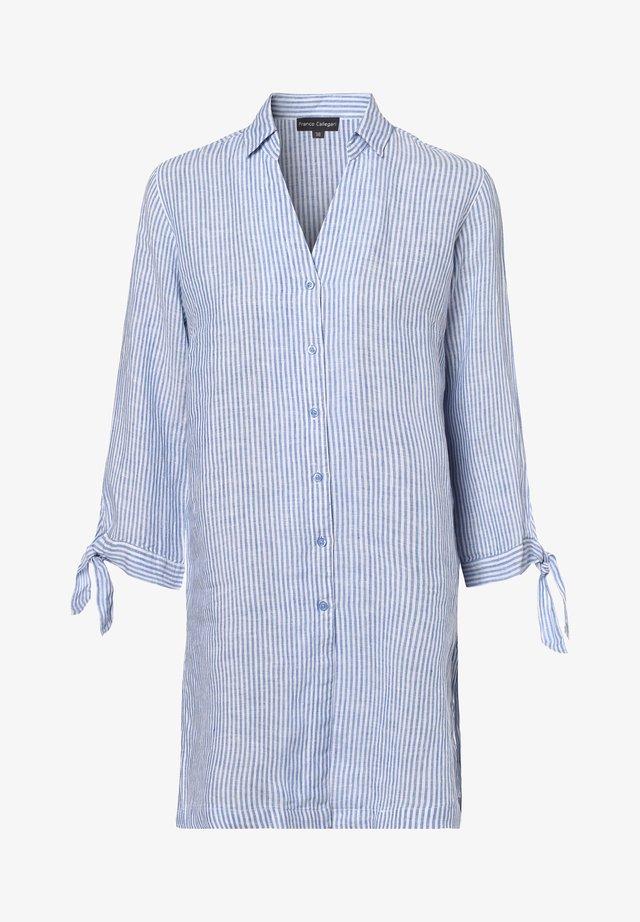 Button-down blouse - royal