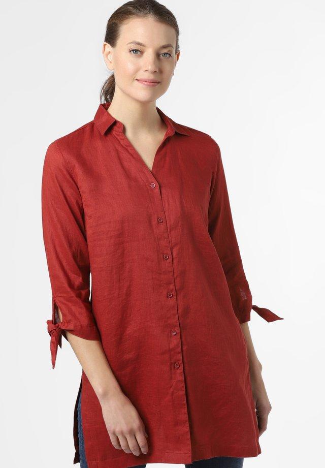 Button-down blouse - terra