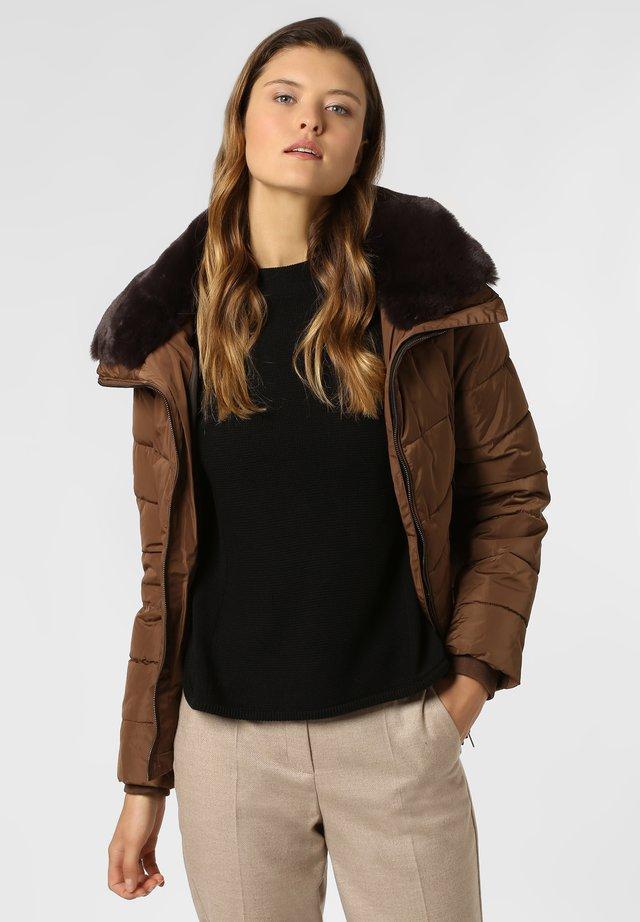 Winter jacket - cognac