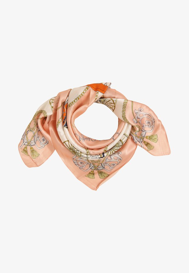 Foulard - pink ecru