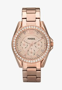 Fossil - RILEY - Zegarek - rosegold-coloured - 2