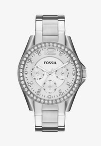 Fossil - RILEY - Zegarek - silver-coloured - 2