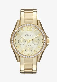 Fossil - RILEY - Zegarek - gold-coloured