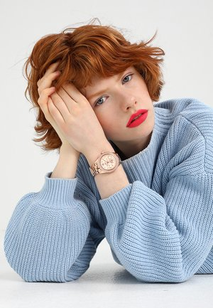 DECKER - Watch - rosegold-coloured