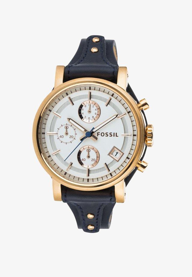 ORIGINAL BOYFRIEND - Zegarek chronograficzny - blau