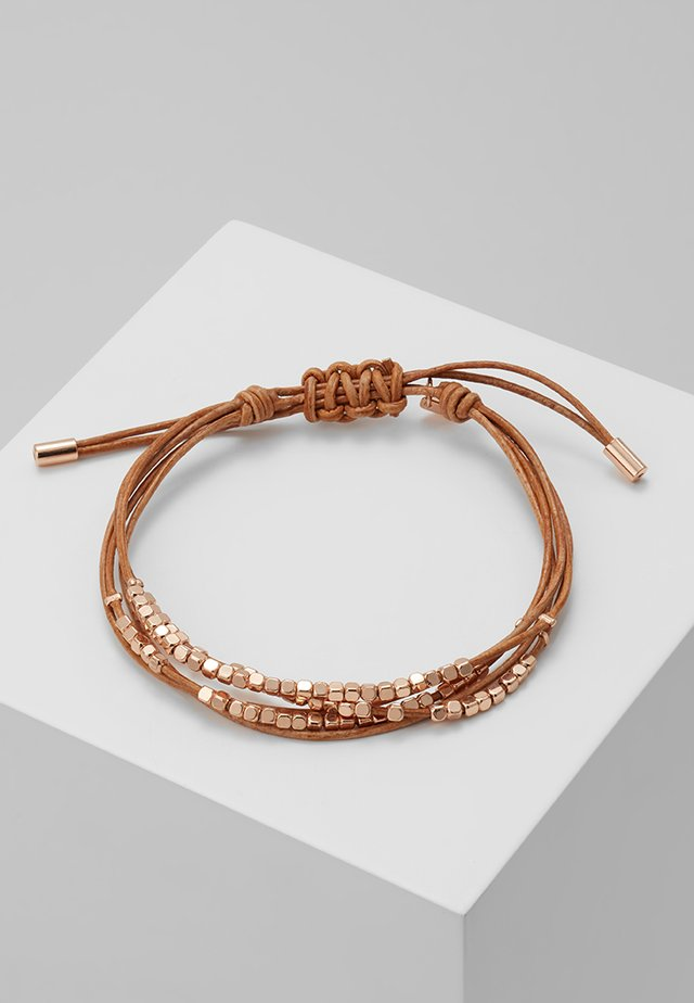 FASHION - Armband - rosegold-coloured