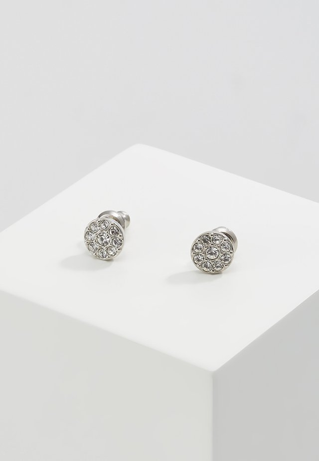 VINTAGE GLITZ - Earrings - silver-coloured