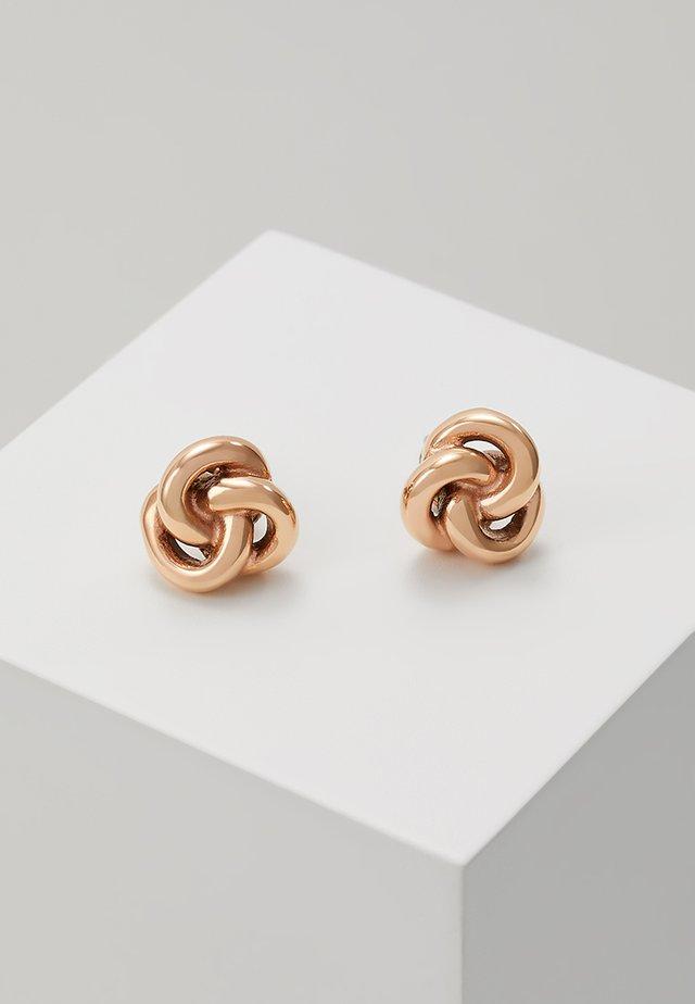 VINTAGE ICONIC - Boucles d'oreilles - rosegold-coloured