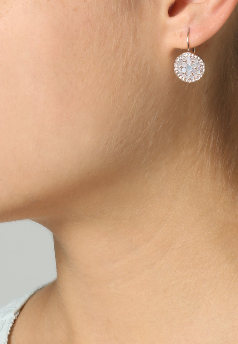 Fossil - VINTAGE GLITZ - Earrings - rosegold-coloured