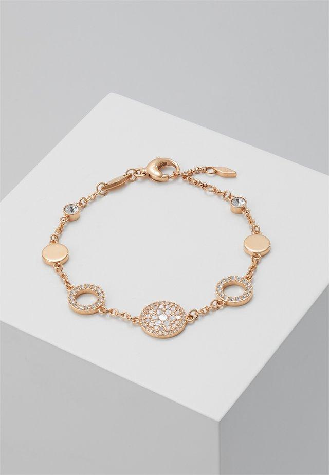 VINTAGE GLITZ - Bracelet - rosegold-coloured