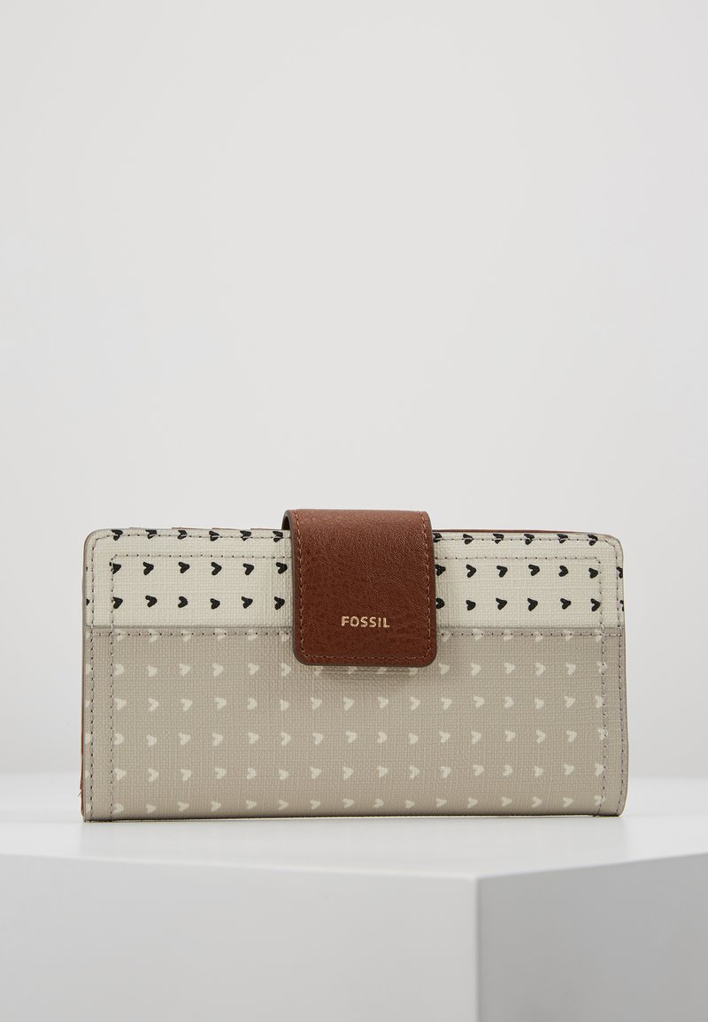 Fossil - LOGAN - Wallet - gray