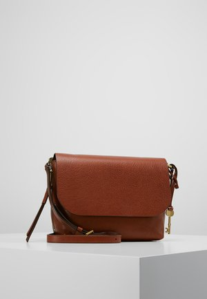 MAYA - Schoudertas - medium brown
