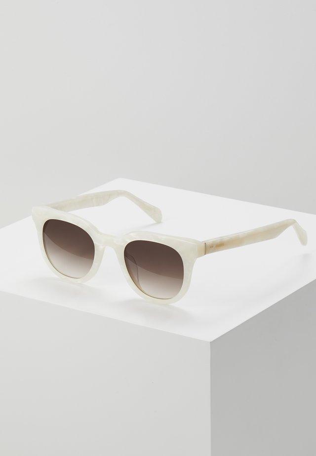 Sluneční brýle - white marble