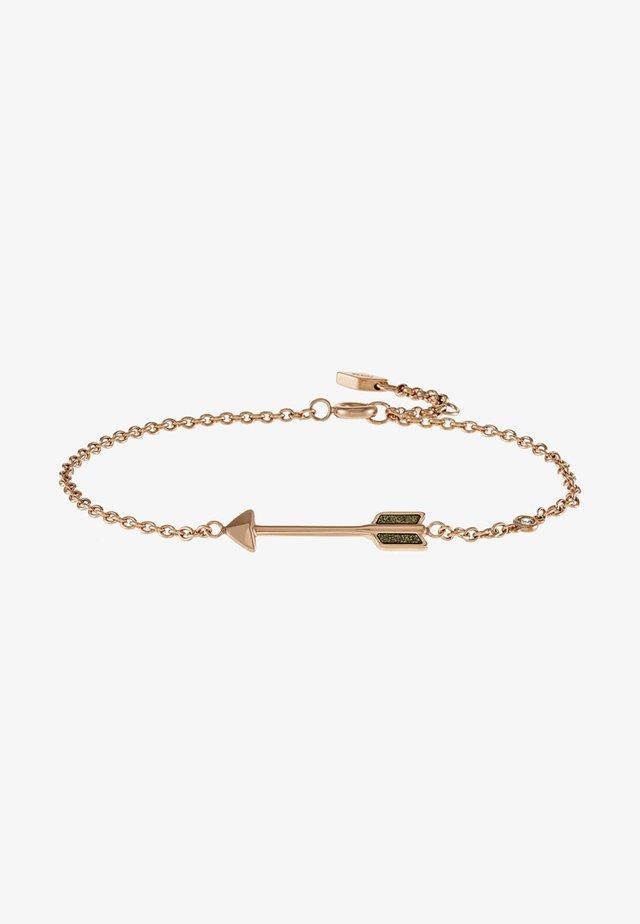MOTIFS - Bracelet - rose gold-coloured