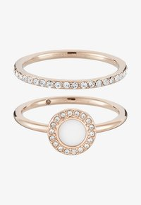 Fossil - CLASSICS 2 PACK - Ring - rose gold-coloured - 3