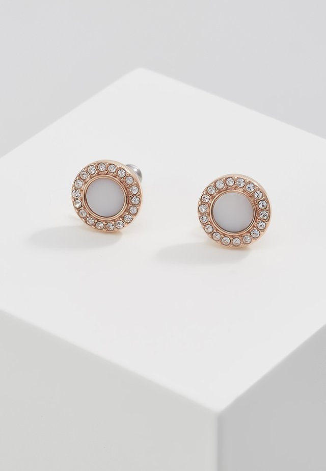 CLASSICS - Earrings - rose gold-coloured