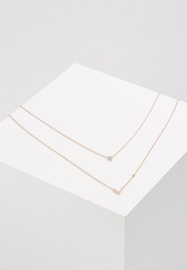 FASHION - Halskette - roségold-coloured