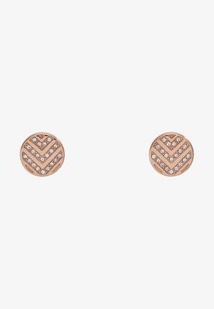 VINTAGE GLITZ - Boucles d'oreilles - rosegold-coloured