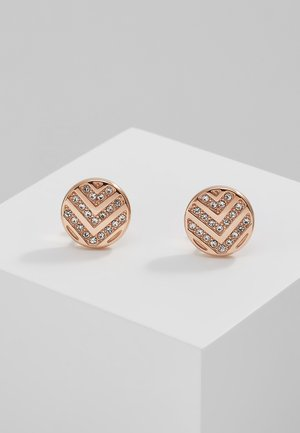 VINTAGE GLITZ - Boucles d'oreilles - rosegold-coloured