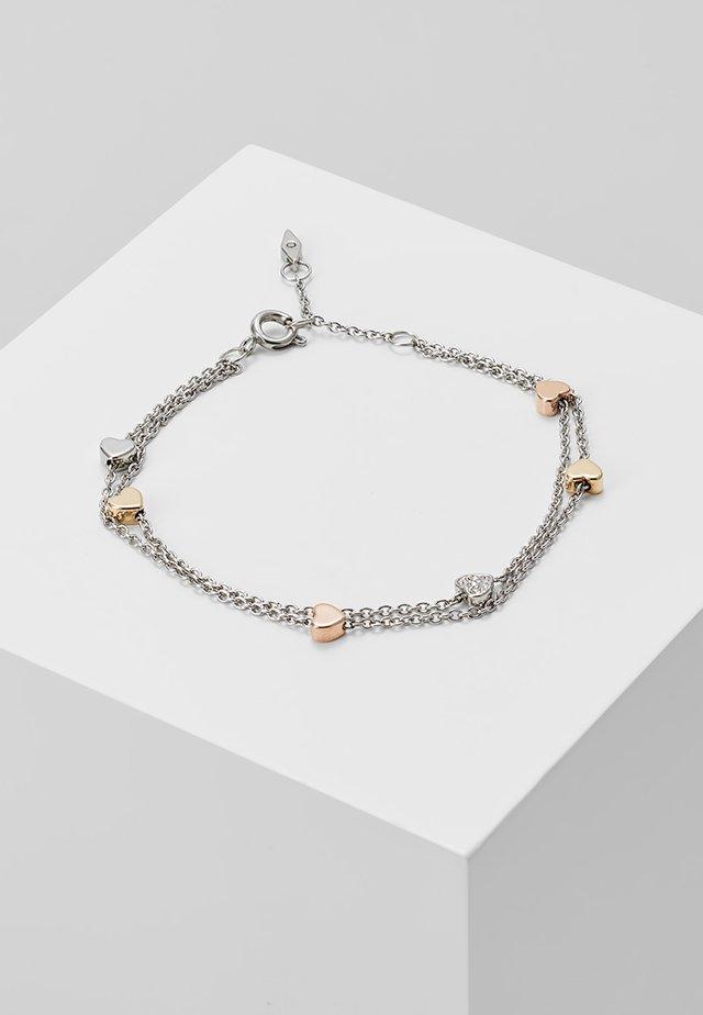 VINTAGE MOTIFS - Armband - silver/roségold/gold-coloured