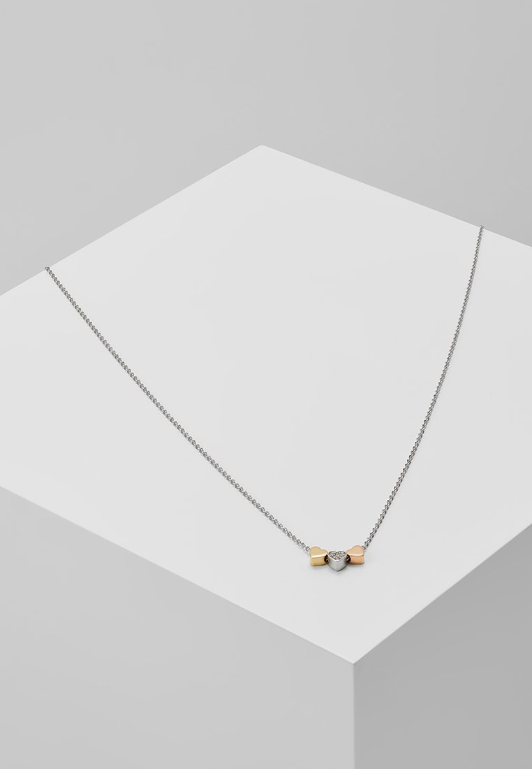 Fossil - VINTAGE MOTIFS - Necklace - silver-/rose gold-/gold-coloured