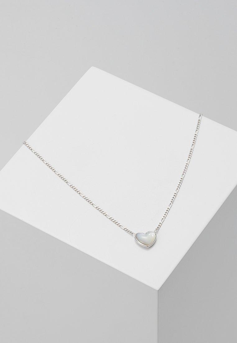 Fossil - Halskette - silver-coloured