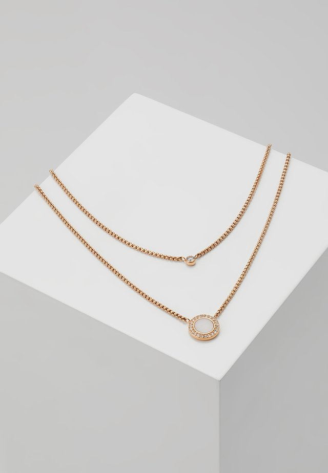 CLASSICS - Necklace - roségold-coloured