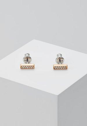 VINTAGE GLITZ - Earrings - roségold-coloured