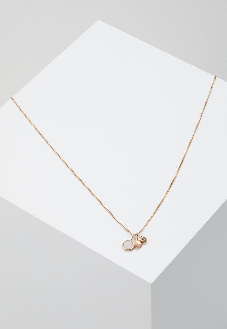 Fossil - VINTAGE MOTIFS - Necklace - roségold-coloured