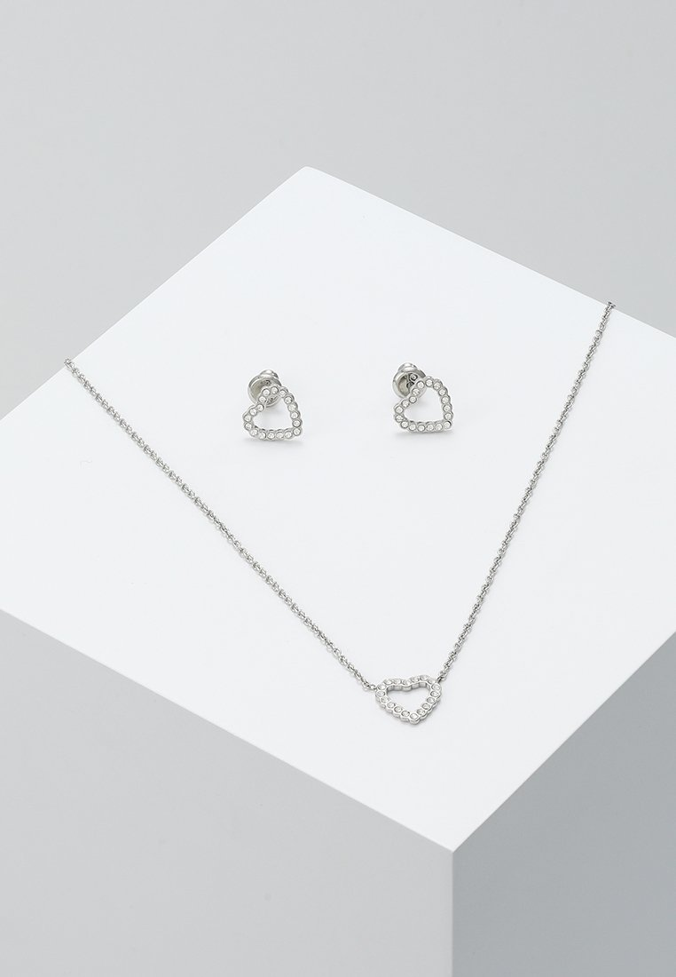 Fossil - VINTAGE GLITZ SET - Collar - silver-coloured