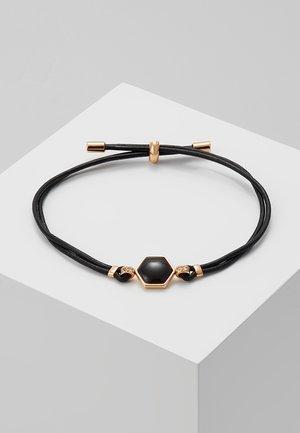 CLASSICS - Armband - black/rosegold-coloured