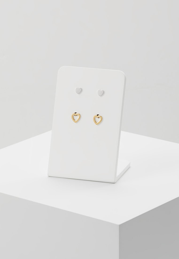 Fossil - 2 PACK - Náušnice - gold-coloured/silver-coloured