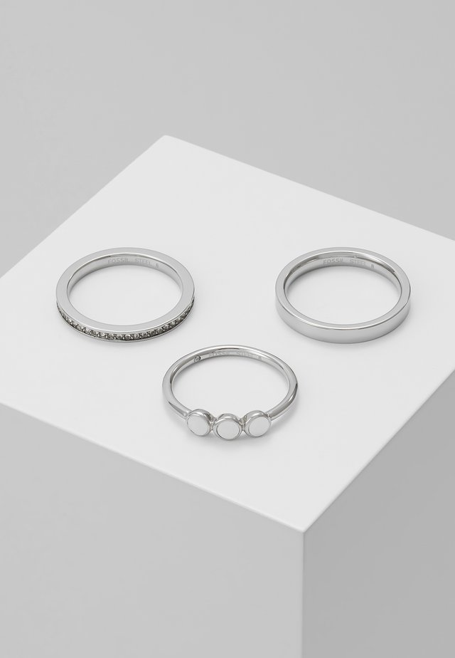 CLASSICS 3 PACK - Ring - silber-coloured