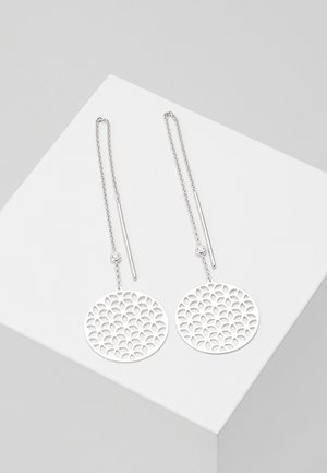 Earrings - silver-coloured