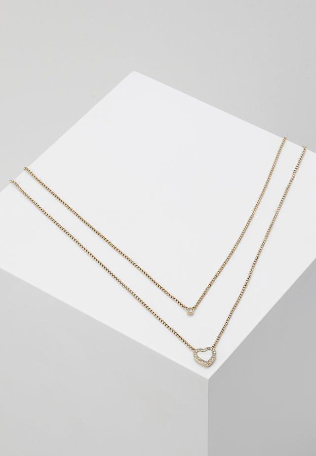 VINTAGE GLITZ - Halskette - gold-coloured