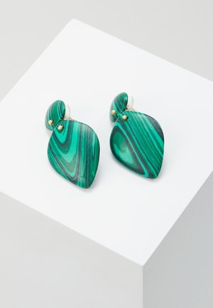 FASHION - Earrings - green