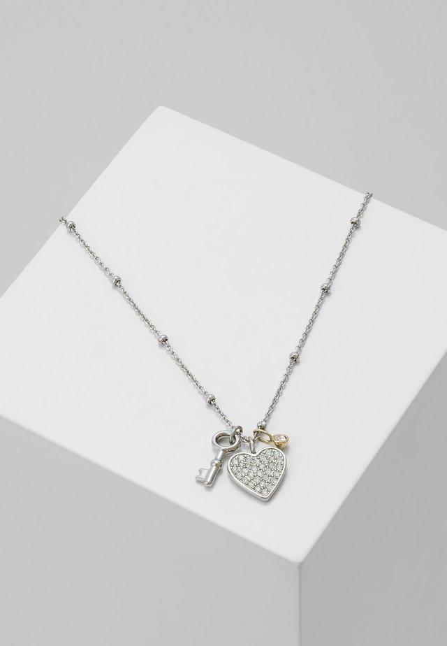 VINTAGE GLITZ - Náhrdelník - silver-coloured