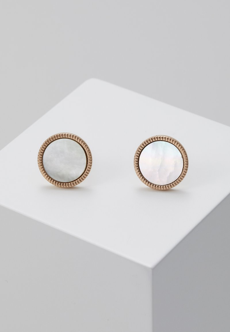 Fossil - VINTAGE ICONIC - Earrings - rose gold-coloured