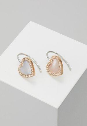 VINTAGE GLITZ - Boucles d'oreilles - rose gold-coloured