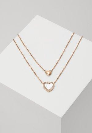 VINTAGE GLITZ - Necklace - rose gold-coloured